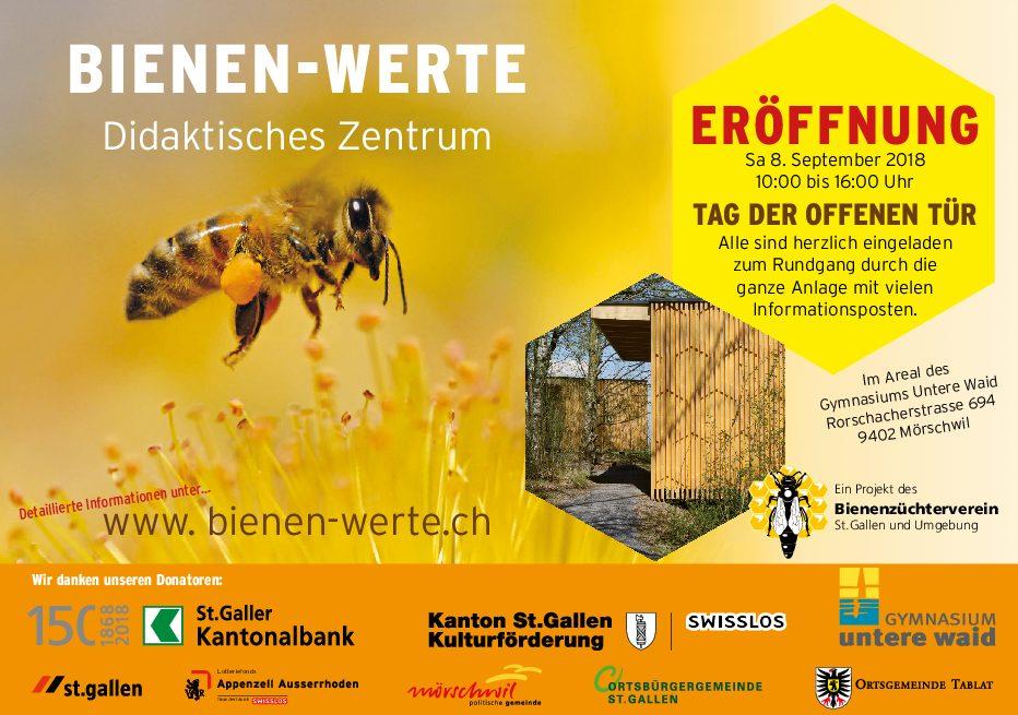 Eröffnung Didaktisches Zentrum am 8. September – ein grosser Erfolg!